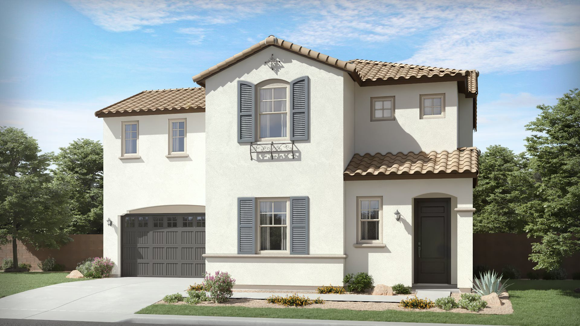 Santa Clara Plan 4521 A Spanish Colonial