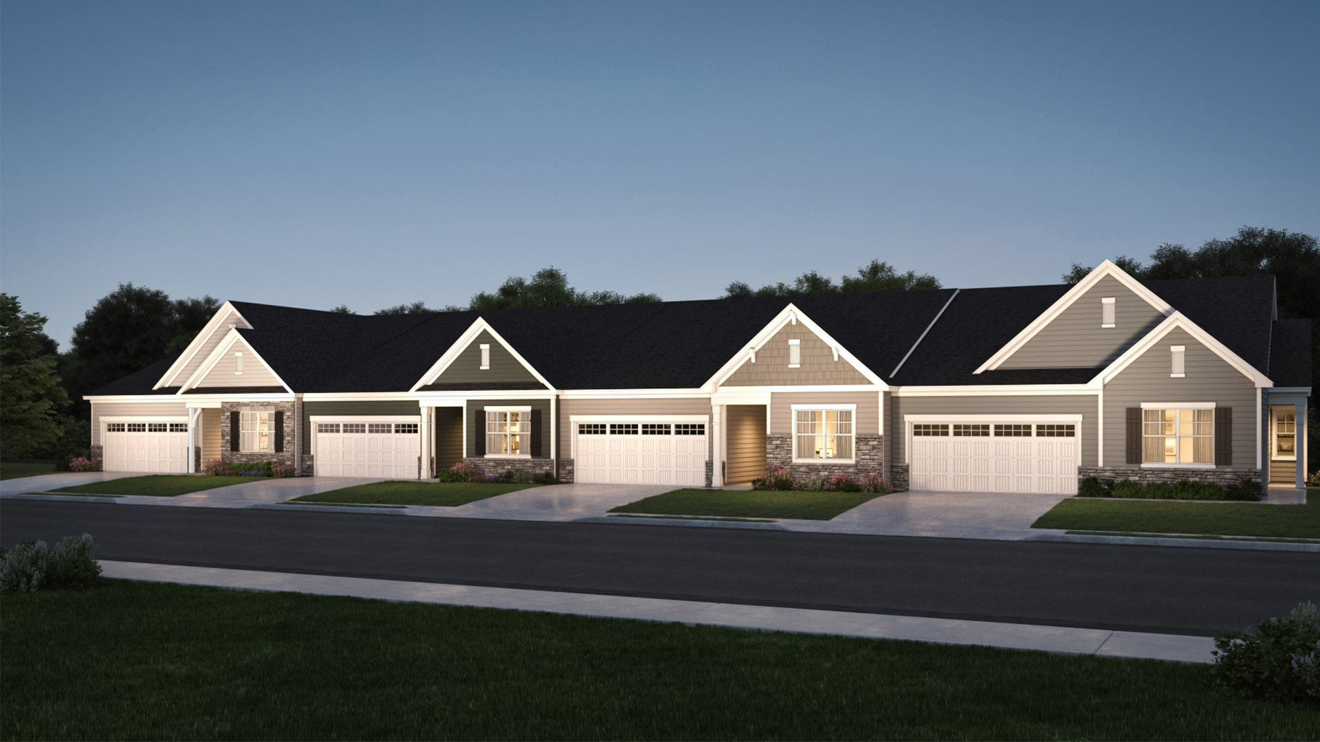 Fendol Farms: Terraces Collection - New Active Adult 55+ Homes in Durham