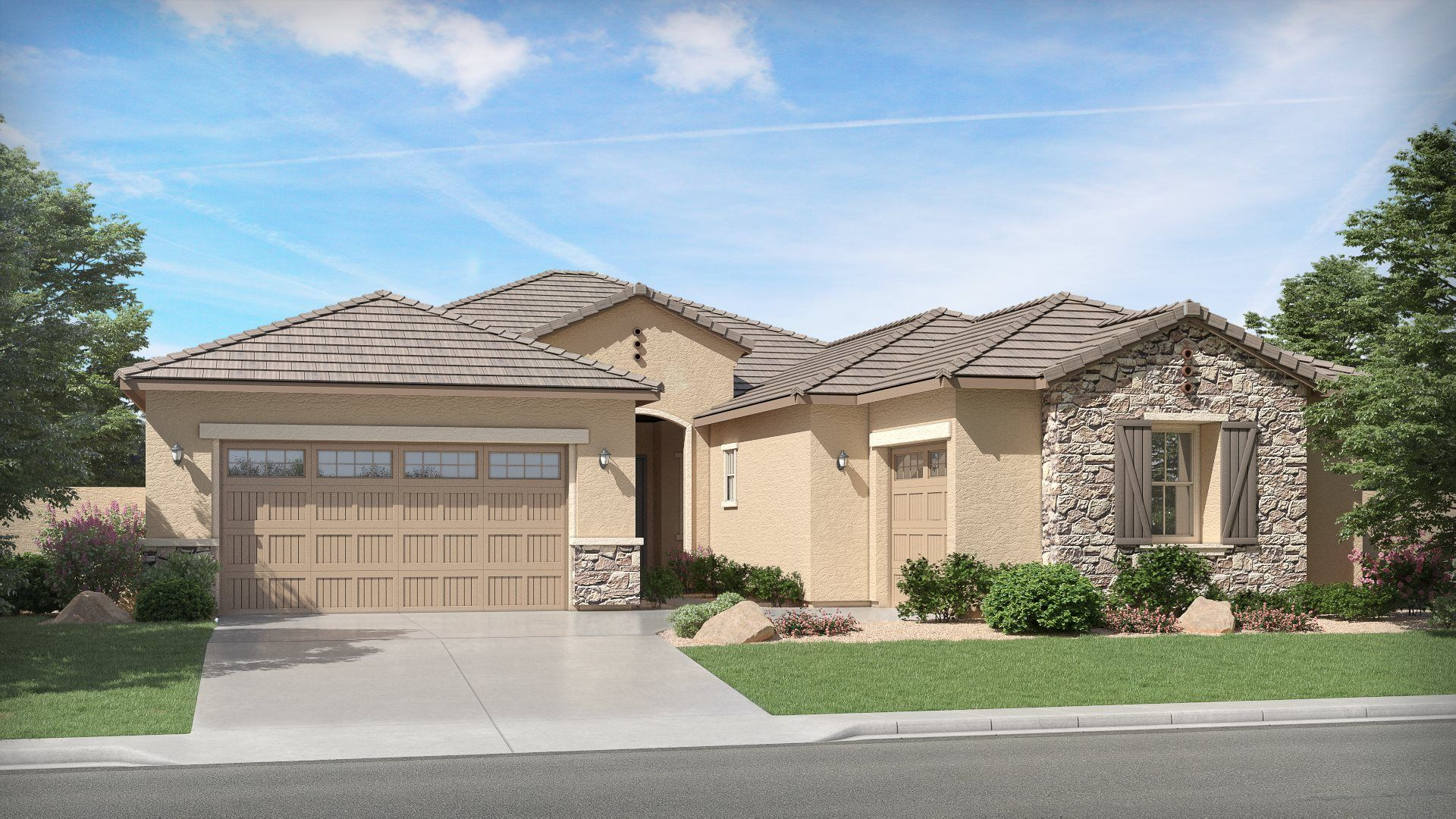 Evolution Plan 5582 F French Country