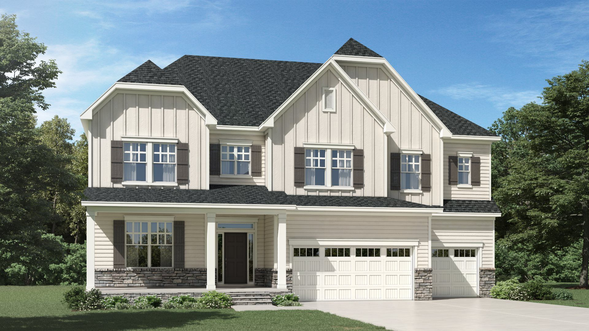 The Mills at Avent Ferry - New Homes in Holly Springs