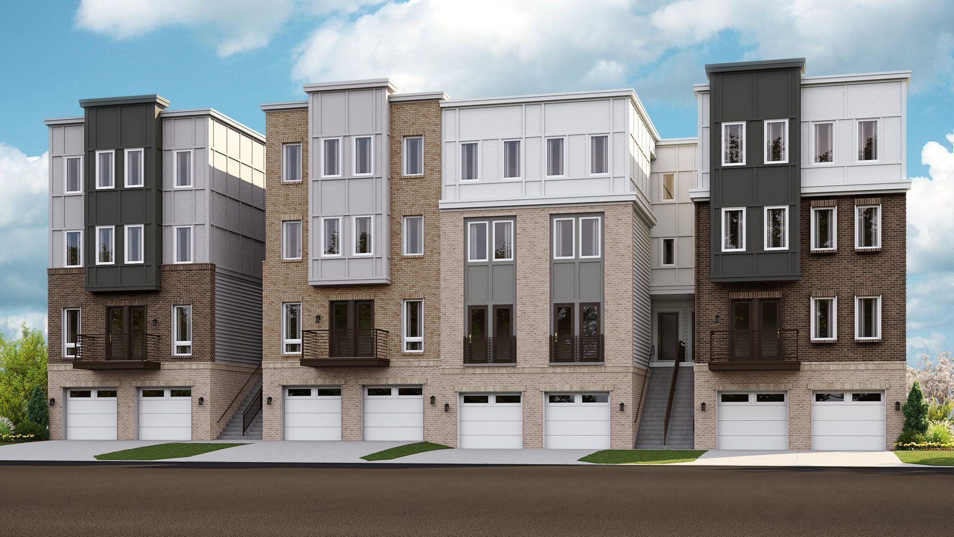 Luxury Townhomes at Rippon Landing