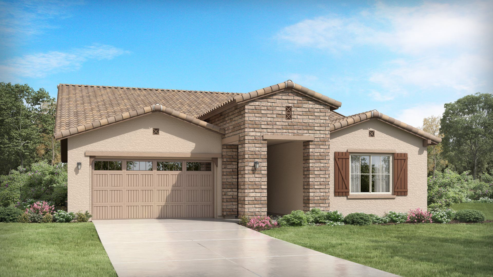 Bering Plan 4580 H Ranch Hacienda