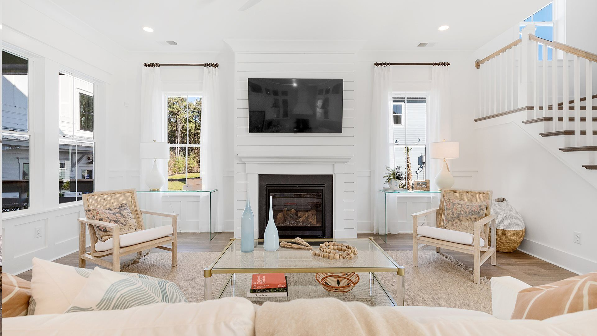 Included Fireplace
