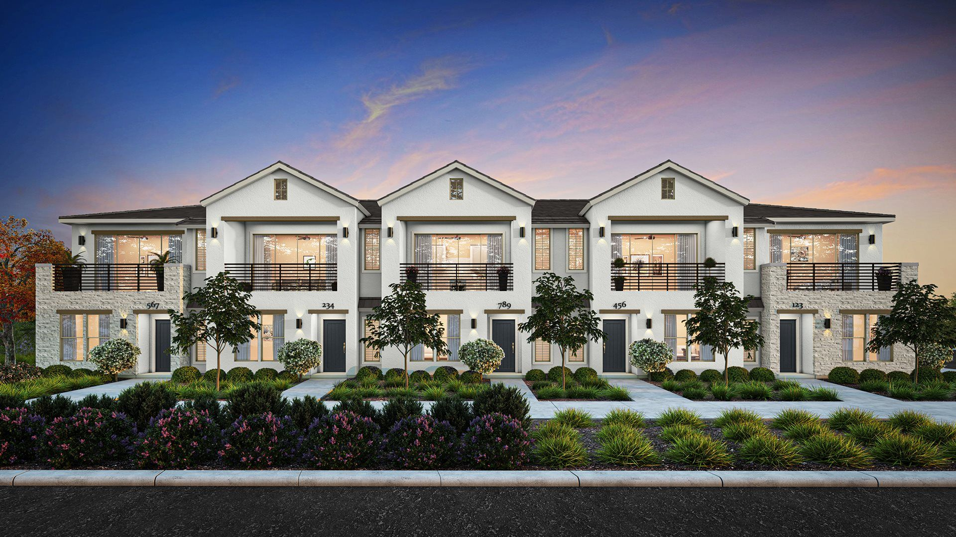 Starling Townhomes - Front