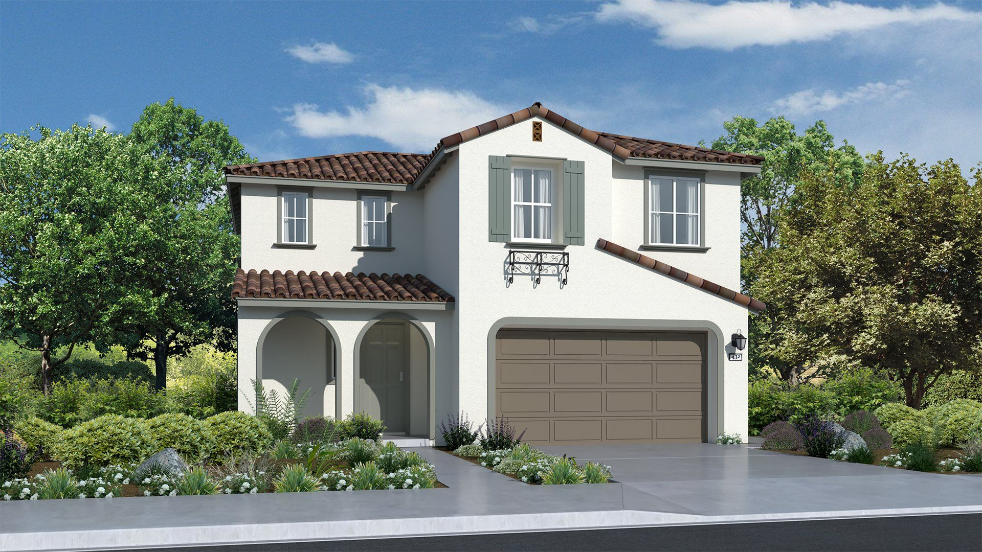 Residence 1638 | Elevation A