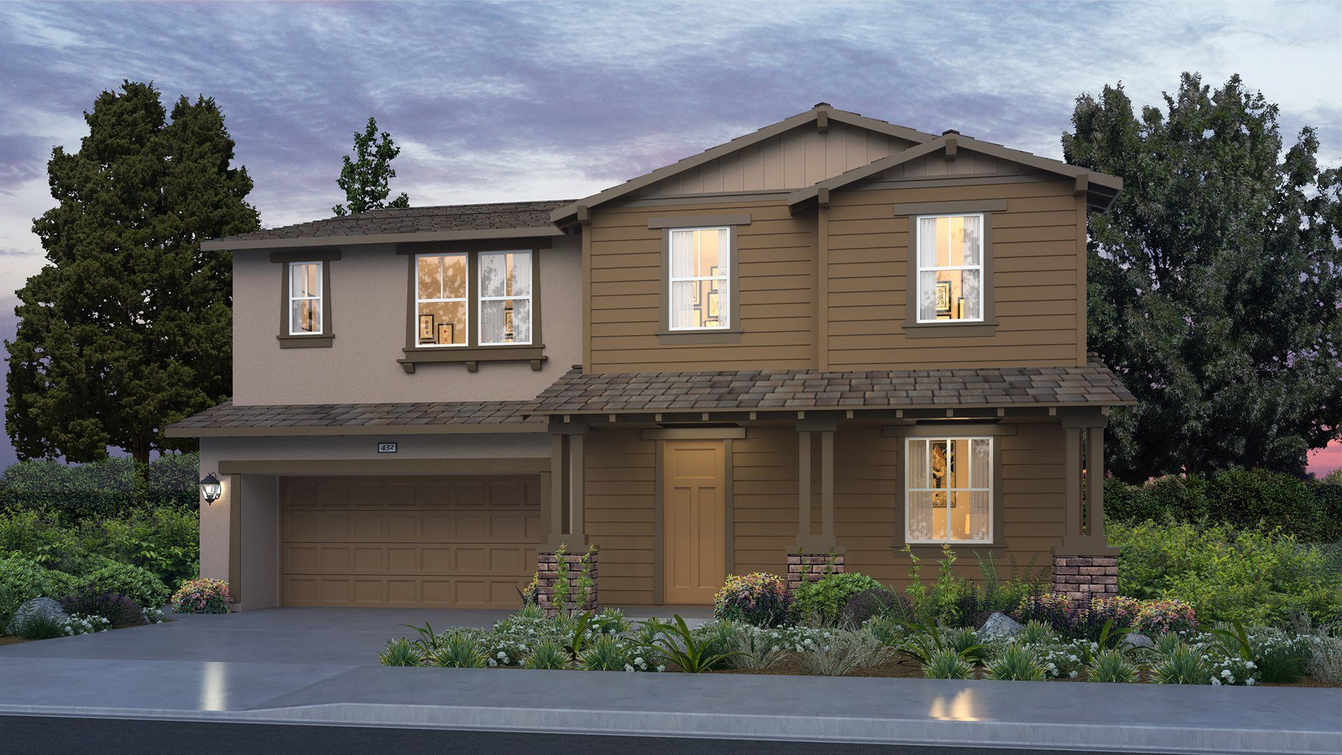 Everly at Parklane - Residence One B Exterior