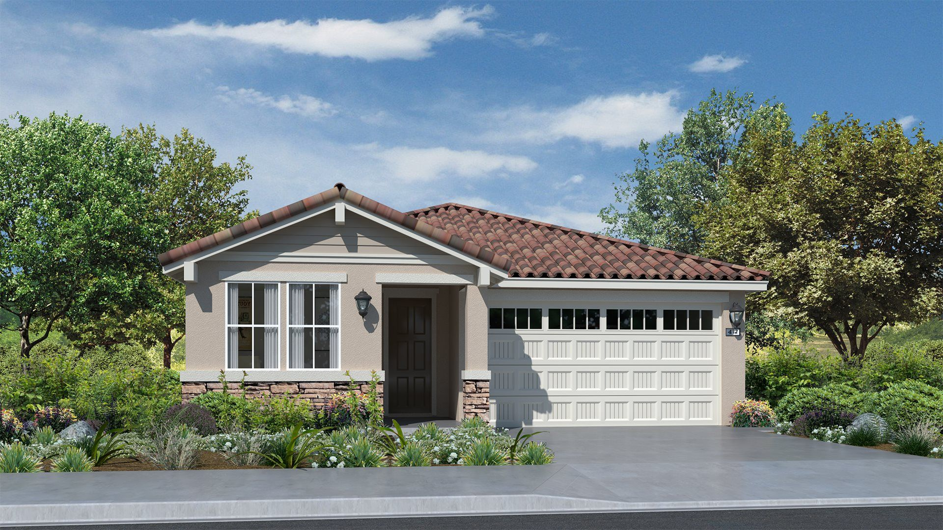 Residence 1603 | Elevation A