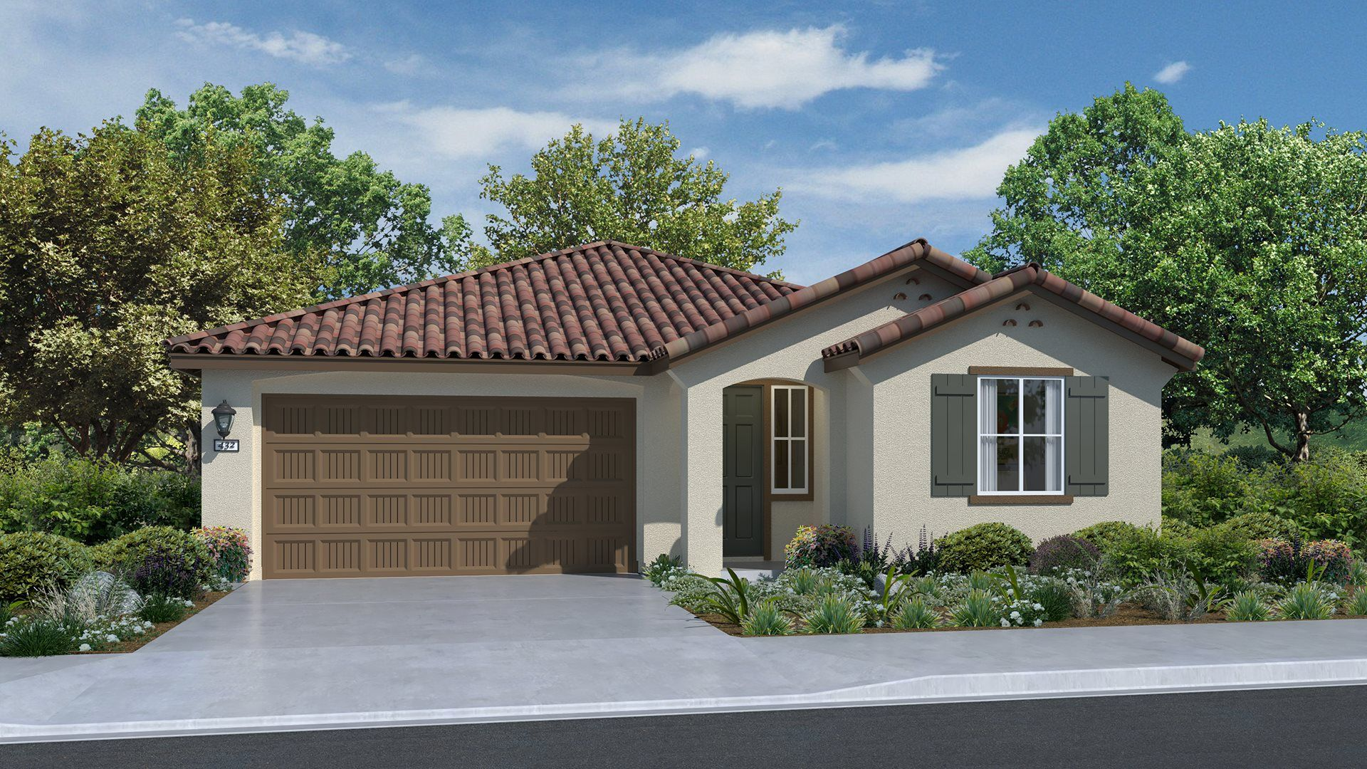 Residence 1662 | Elevation A