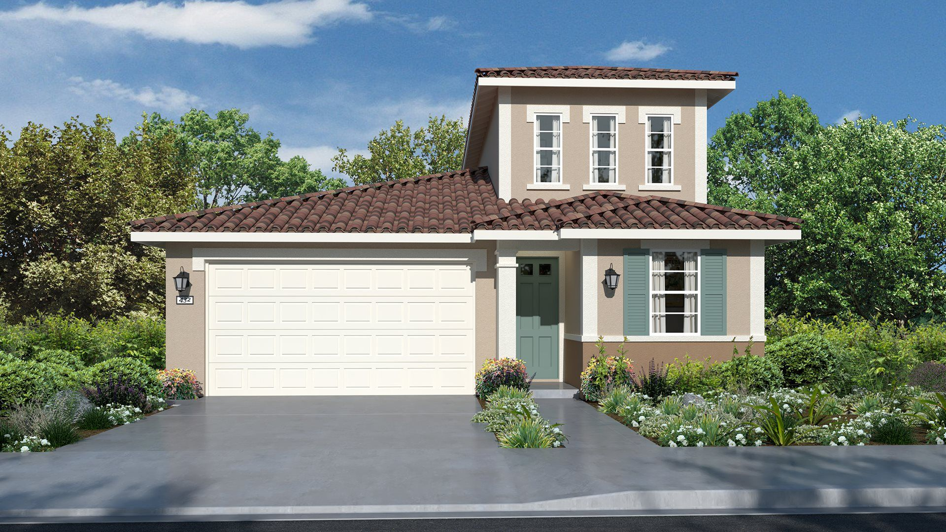 Residence 2134 | Elevation A