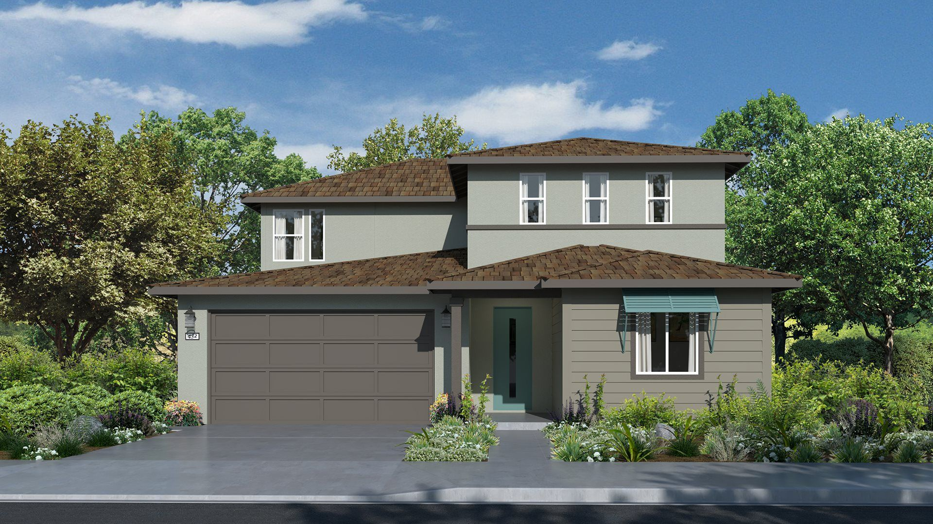 Residence 2307   Elevation A