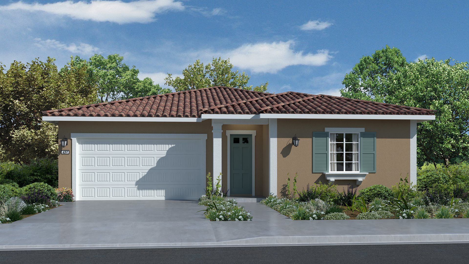Residence 1797 | Elevation A