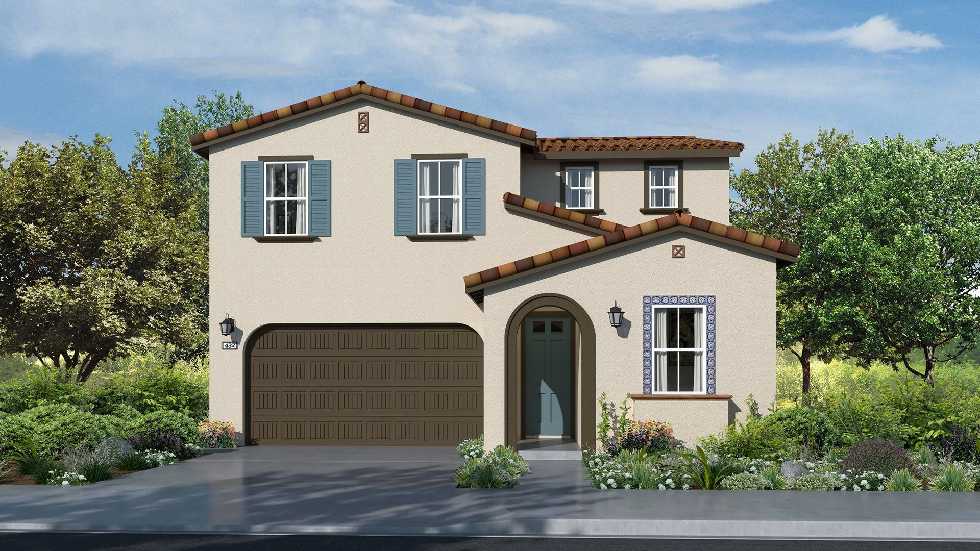 Residence 2223 | Elevation A