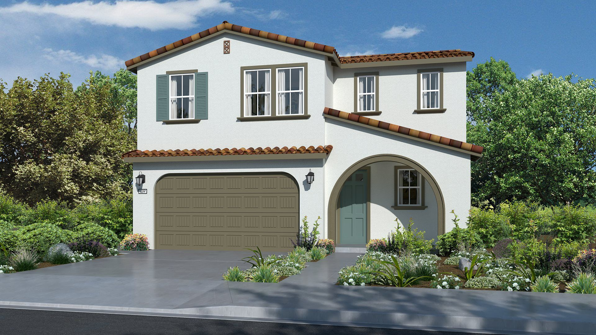 Residence 2114 | Elevation A