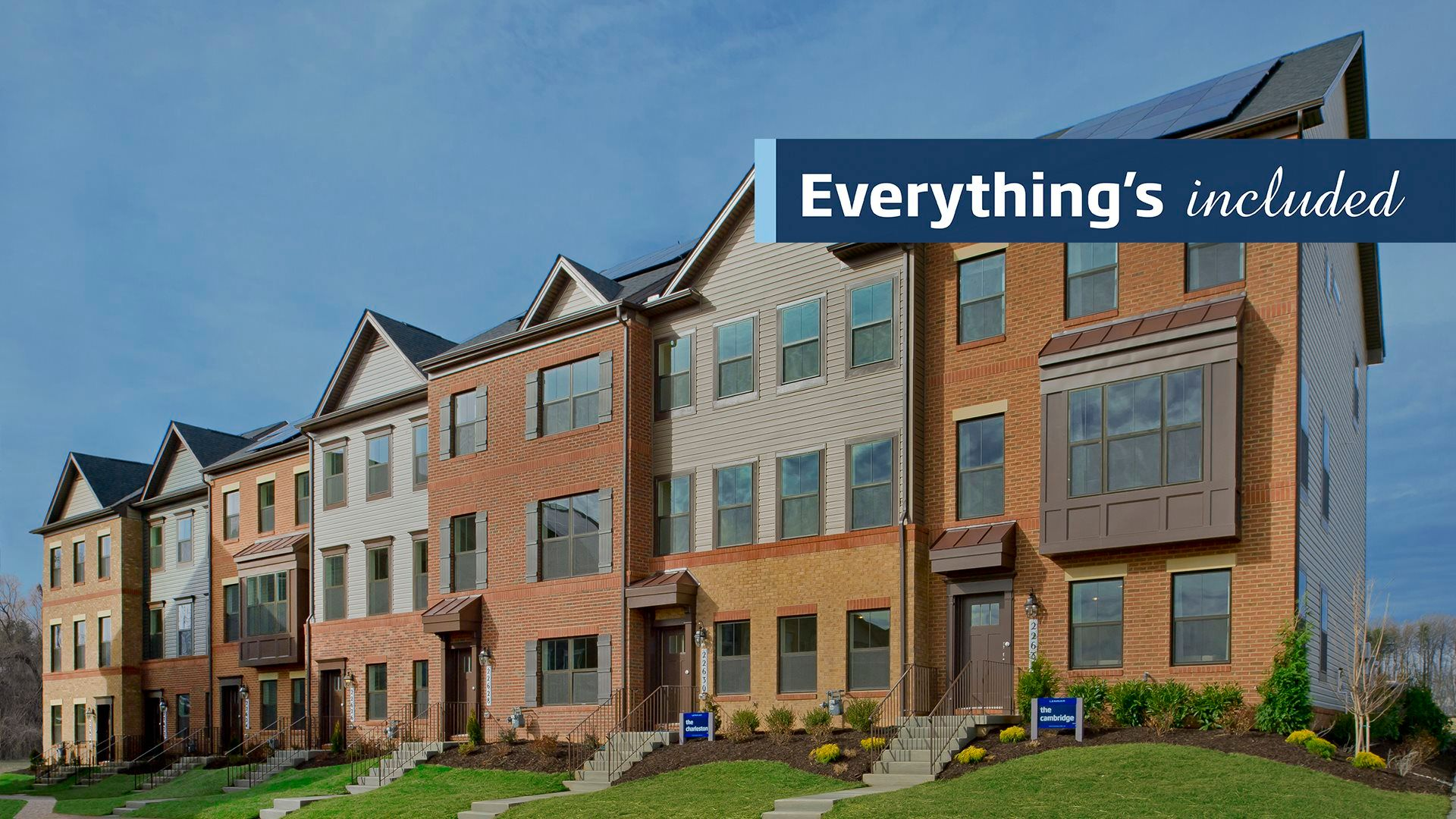 Everything's Included® Townhomes