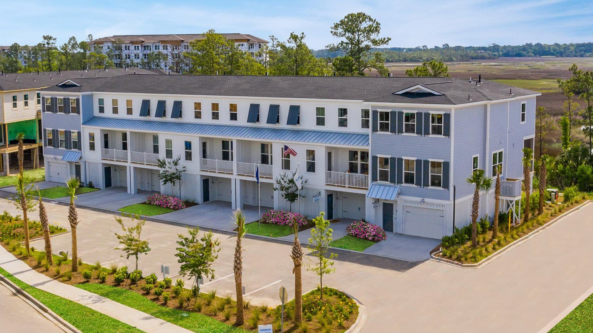 New townhomes in Charleston