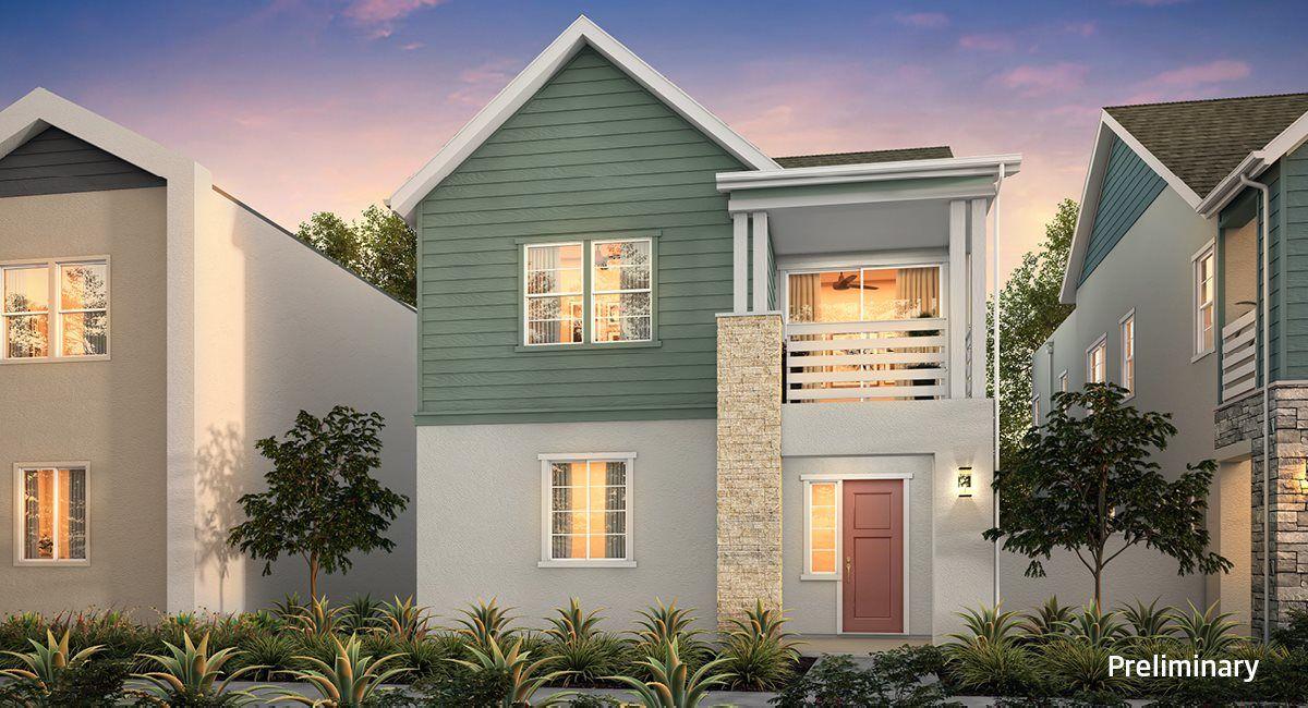 Residence 1 - Farmhouse Elevation A