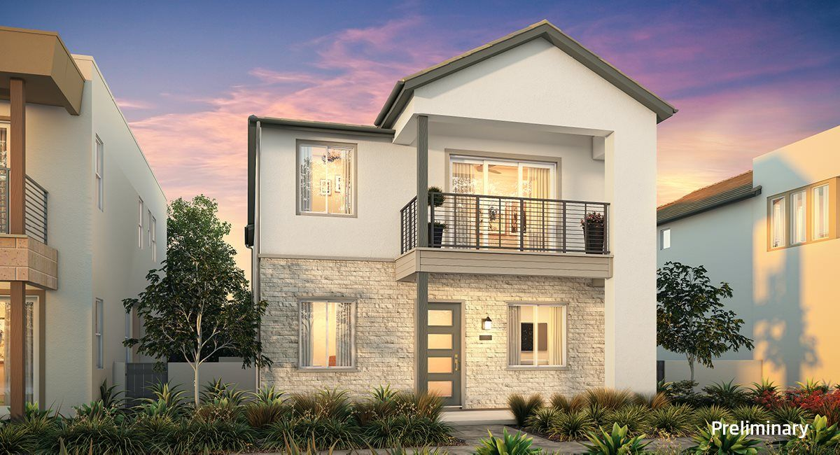 Residence 1 - Transitional Elevation A