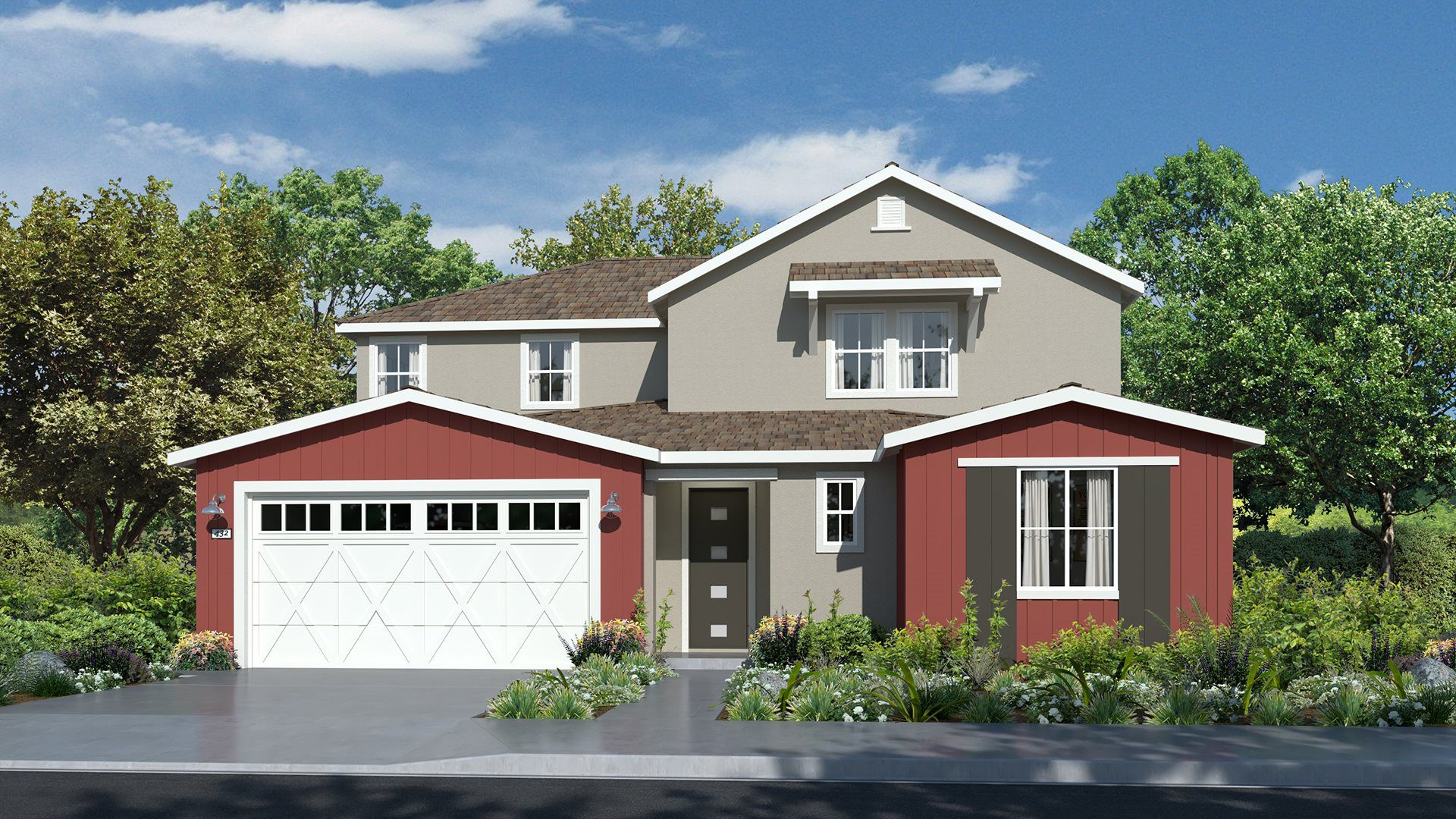 Residence 3425 | Elevation A