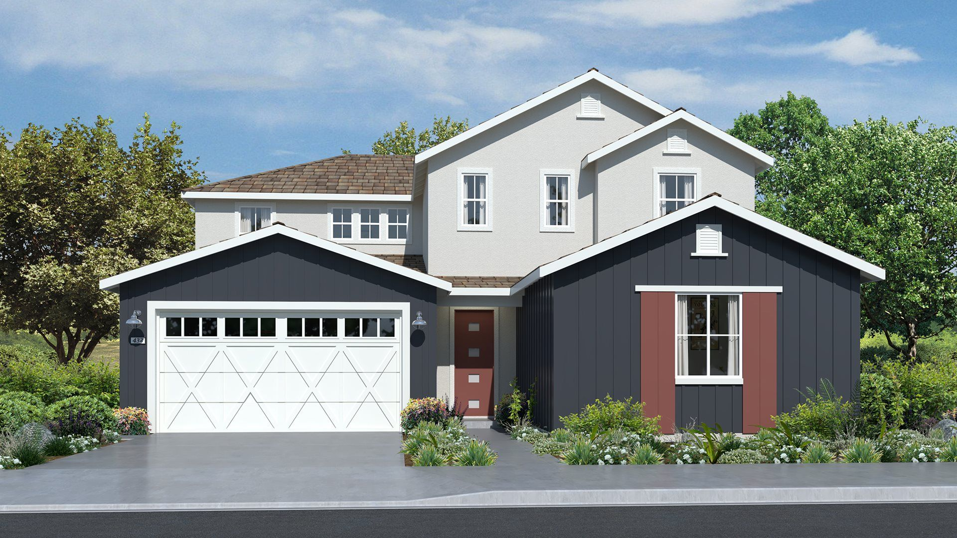 Residence 3135   Elevation A