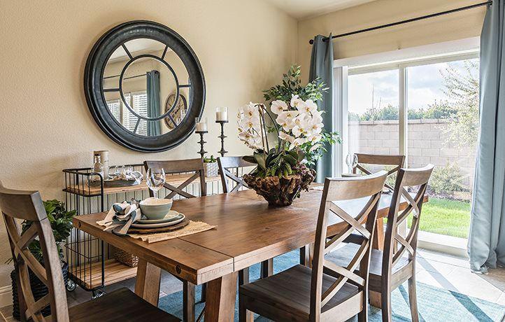 Sugar Pine dining room