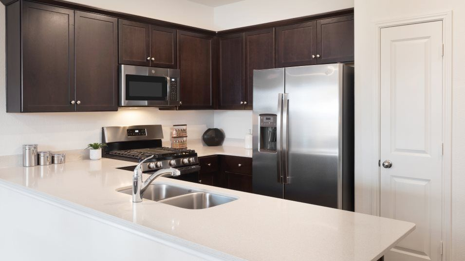 Riverhill Selsey Kitchen:Featuring brand-new stainless steel appliances, ample countertop space and designer-selected cabinet
