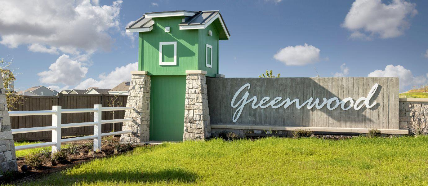 Greenwood Entrance Sign