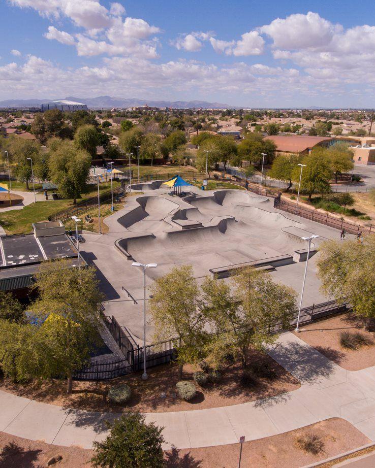 Western Enclave Desert West Skateboard Plaza