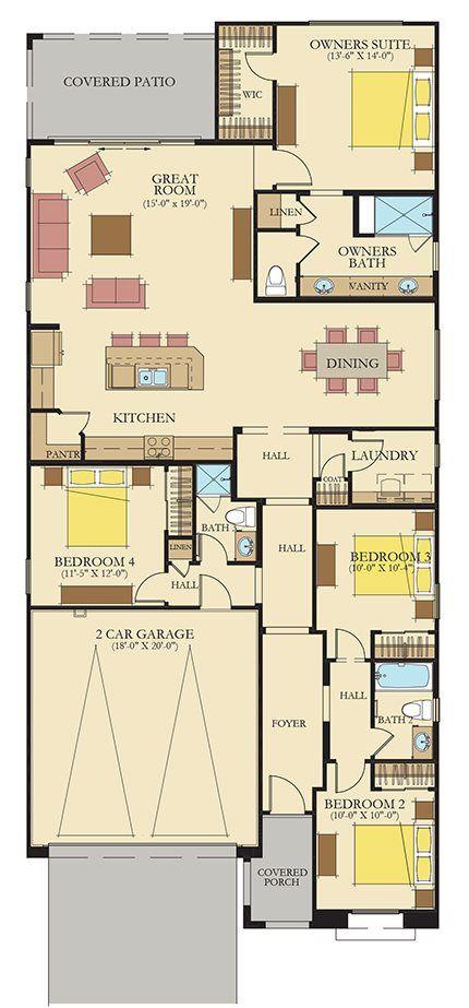 Ironwood Plan 3518 Furnished