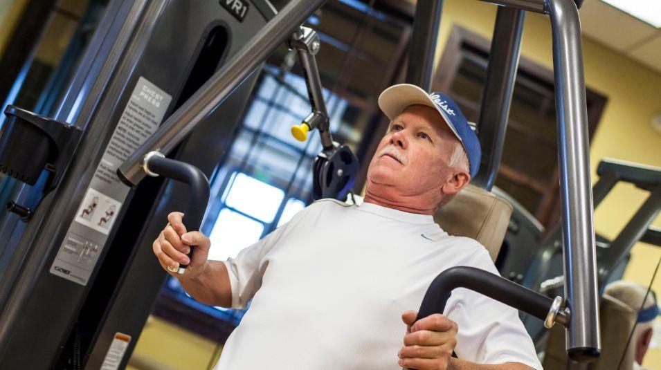 Heritage Todd Creek fitness center