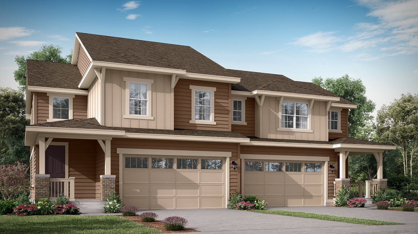 Palisade Park West Paired Homes Meridian Exterior