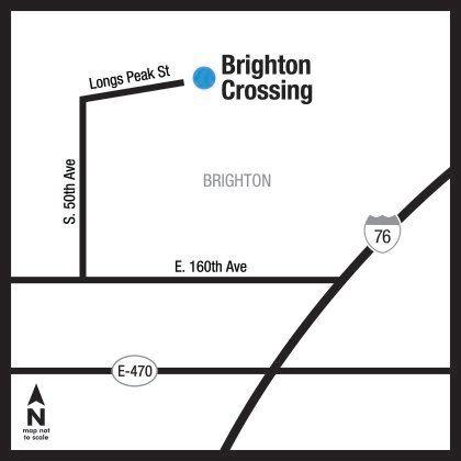 Brighton Crossings Locator Map