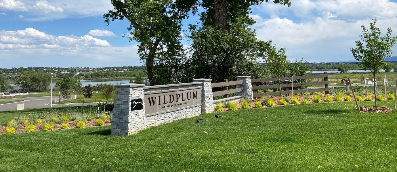 Wild Plum Entrance