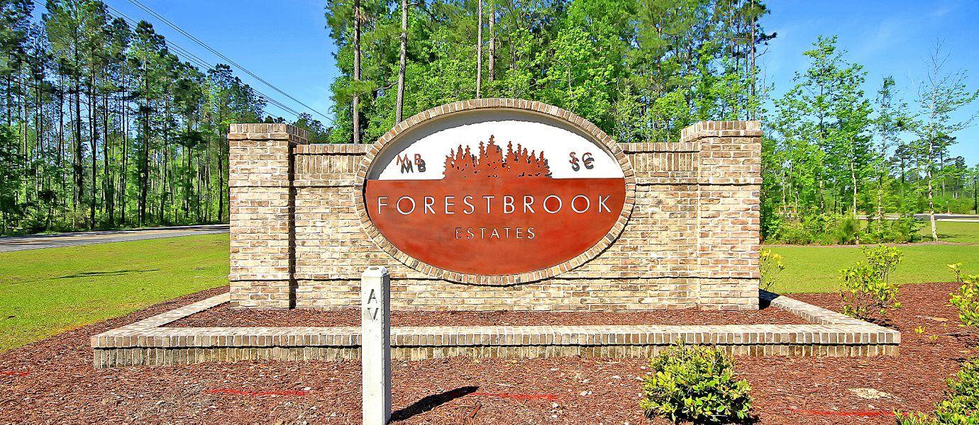 Forestbrook Estates Entrance