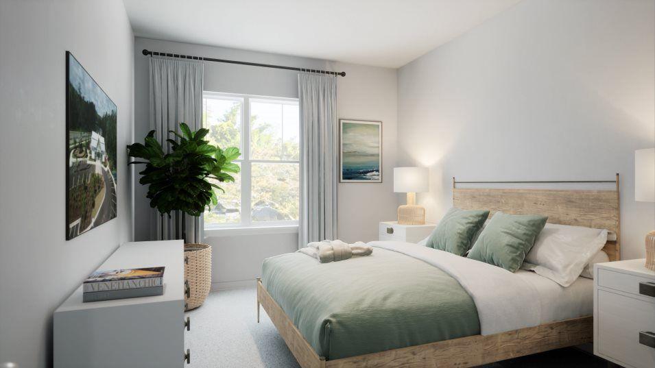 Belle Harbor Townhomes Pinehurst Bedroom 3