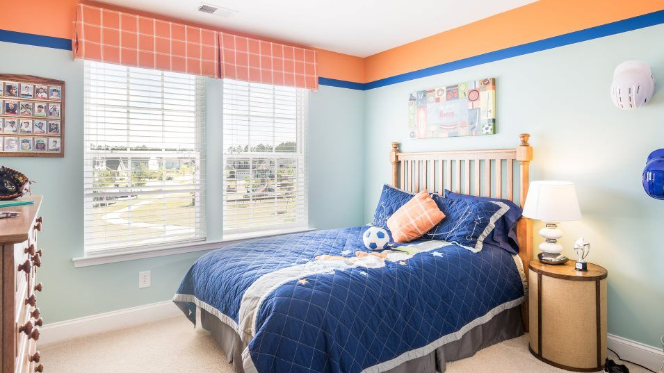 Lindera-Preserve-at-Cane-Bay-Plantation Arbor Coll:This bedroom enjoys a corner upstairs location.