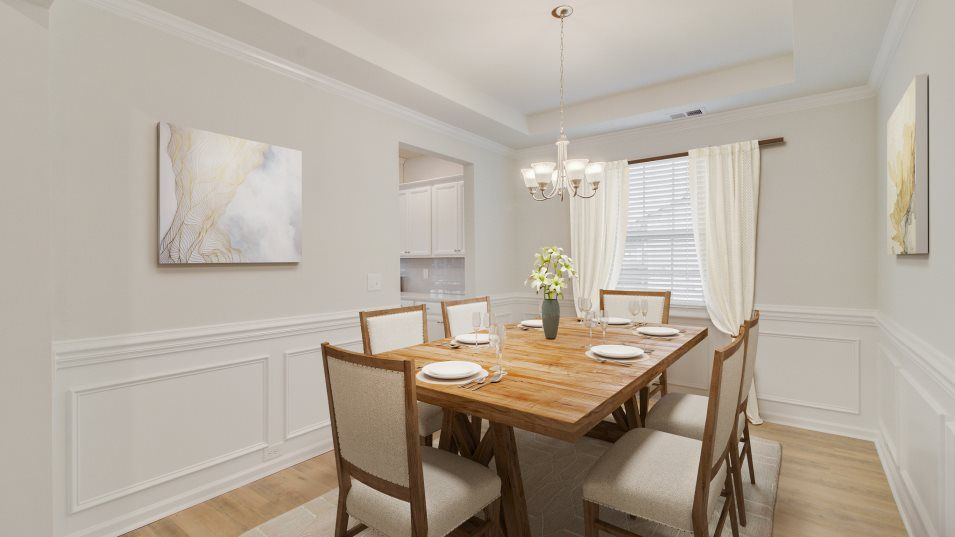 Lindera Preserve at Cane Bay Plantation Arbor Coll:Located on the other side of the kitchen is a formal dining room that's ready for meals of any occas