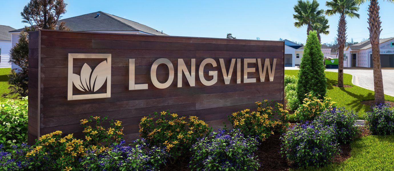Longview Entrance