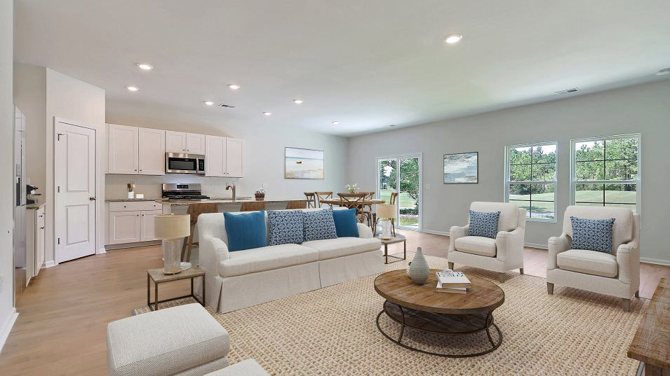 Longview HARTFORD Living Room:A natural gathering spot, the living room offers plenty of space for entertaining or relaxing, paire