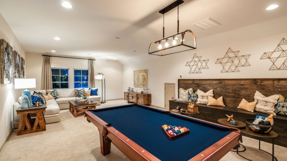 Queens Park Russell Bonus Room:An optional second-floor bonus room is available at select homesites.