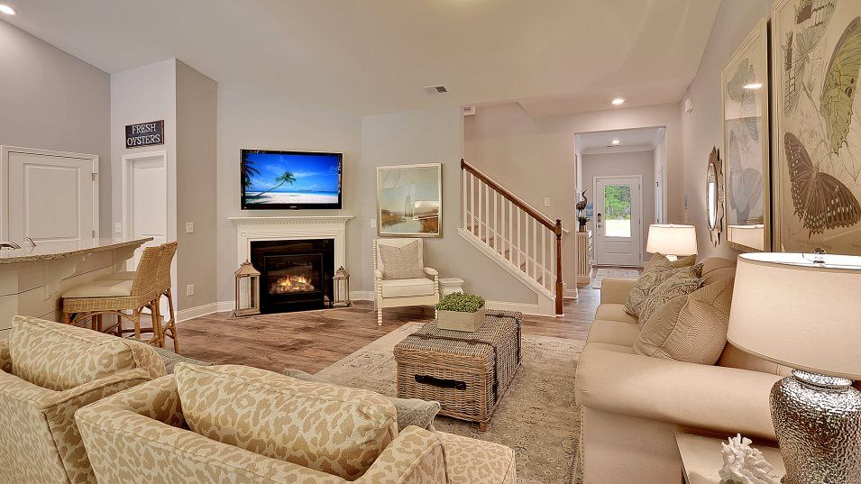 Queens Park ST PHILLIPS Family Room:Located at the front of the home, this expansive living space is ideal for entertaining large get-to