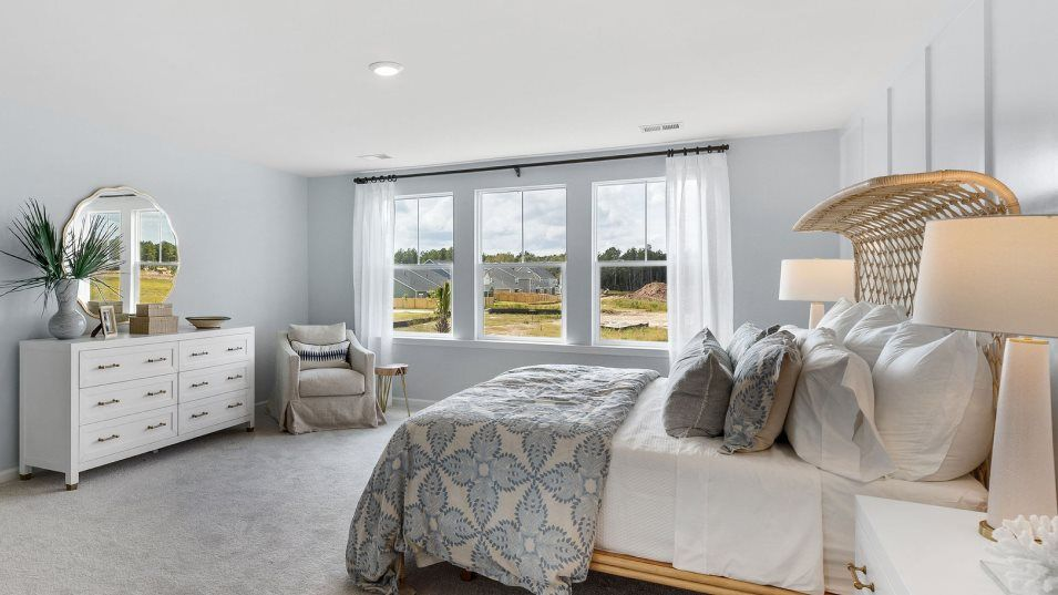 Waterside at Lakes of Cane Bay Arbor Collection Fu:Located on the second floor, this bright owner's suite enjoys a spacious bedroom with ample room for
