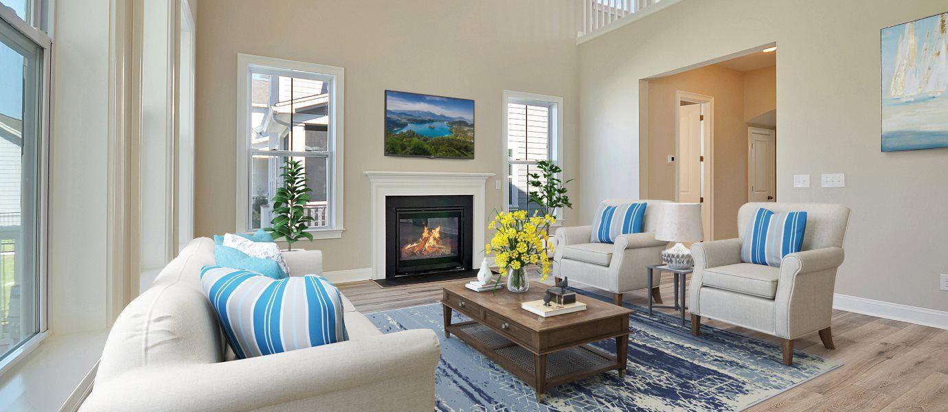 Carolina Park Phase 10 & 12 Thompson family room