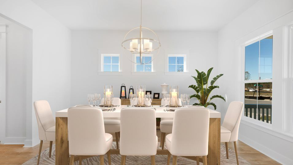 Carolina Park Phase 10 & 12 Beaufort Dining:Located near the entry, this dining room provides a space for casual meals or more formal celebratio