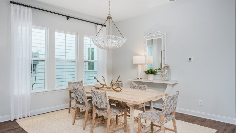 Carolina-Park Phase 10 & 12 ASHLEY Dining:Tucked to the side of the family room is a formal dining area for meals of any occasion, from casual