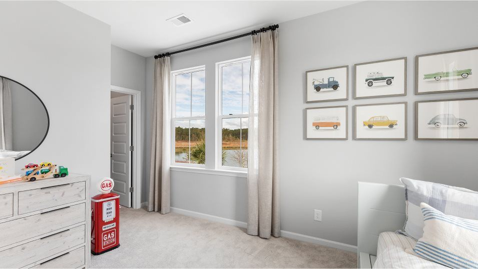 Carolina-Park Phase 10 & 12 TRADD Bedroom 4:Any of the secondary bedrooms could be transformed into a home office, hobby room or guest suite.