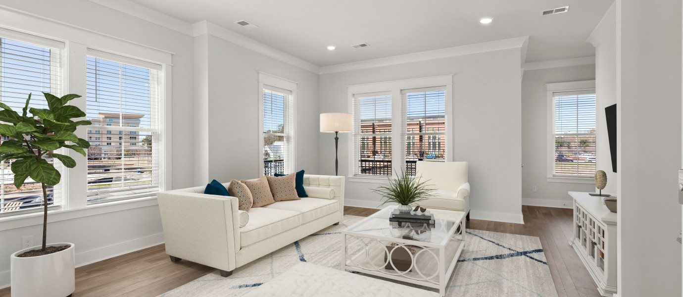 Midtown Townhomes Coleman Living