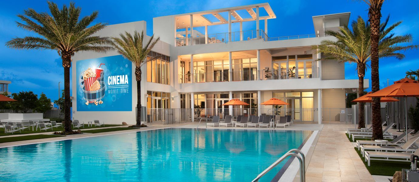 Landmark Condominiums Pool