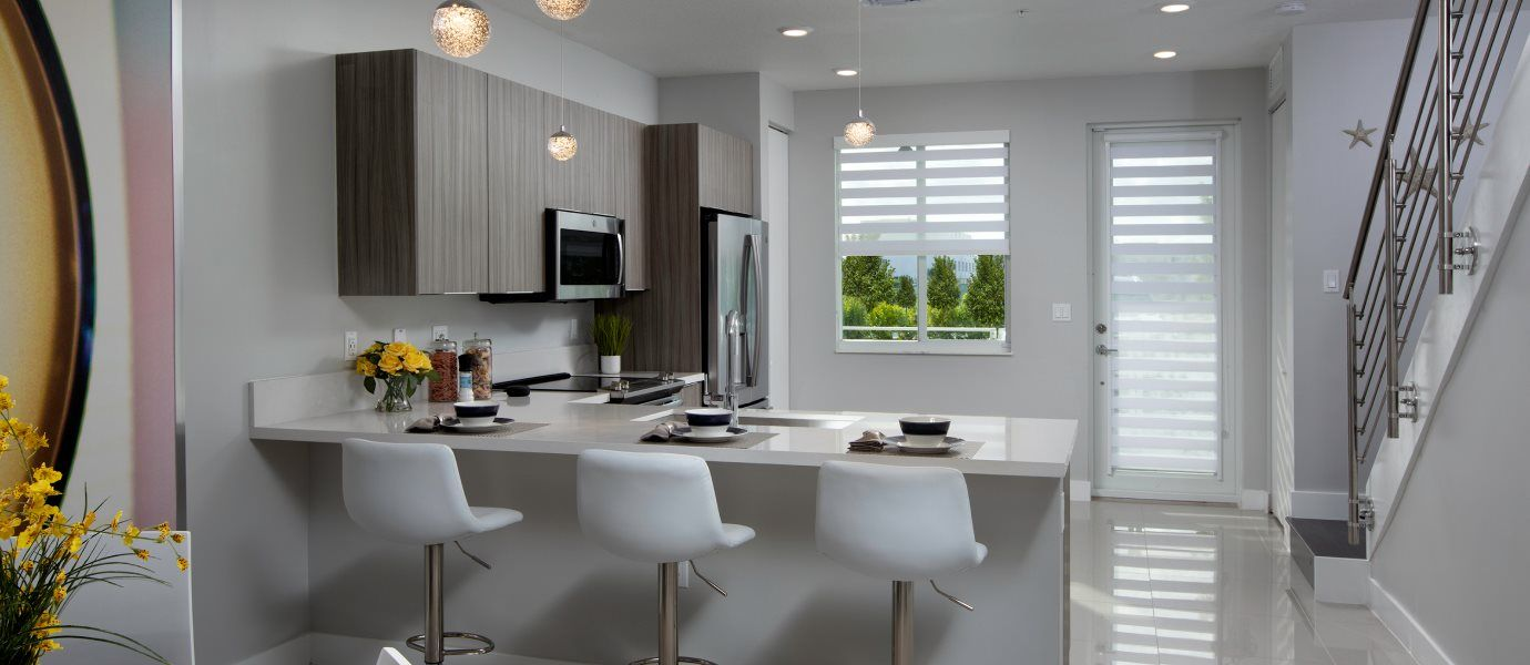 Landmark Condominiums Model E Kitchen