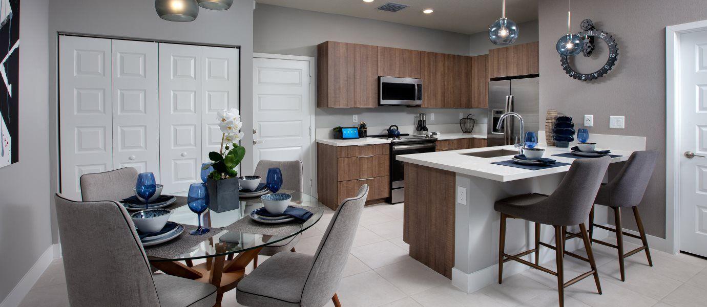 Urbana 2-Story Townhomes MODEL CA Kitchen