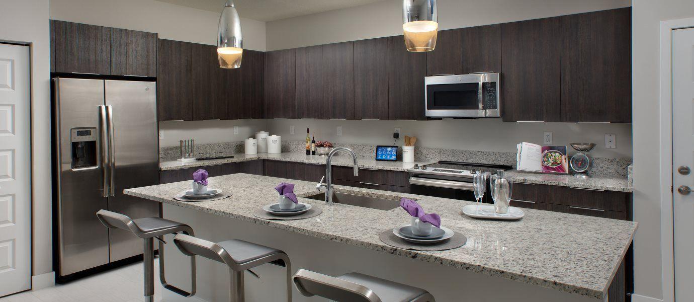 Urbana 2-Story Townhomes Model CF Skyview Kitchen